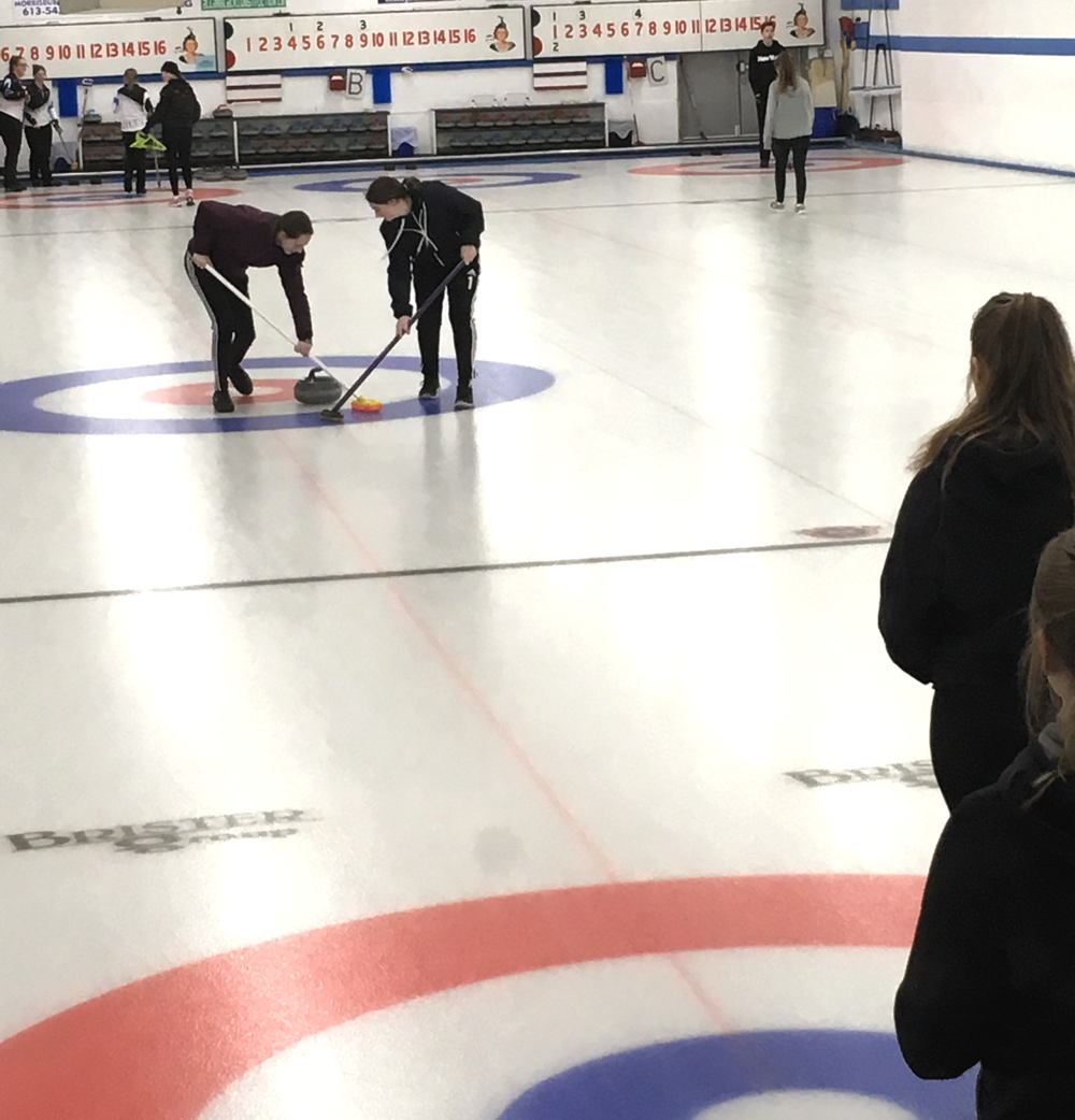 curling action