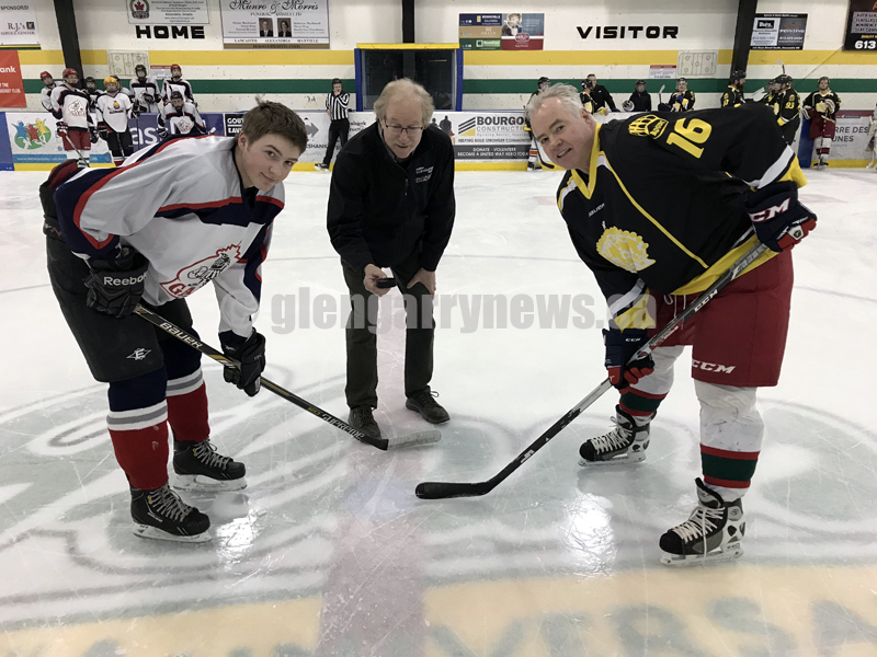 ceremonial faceoff
