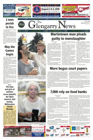 Front Page July 31